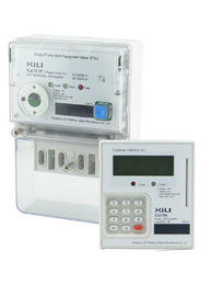 Split Prepaid Energy Meters 1 Phase 2 Wire with Prepayment or Credit mode